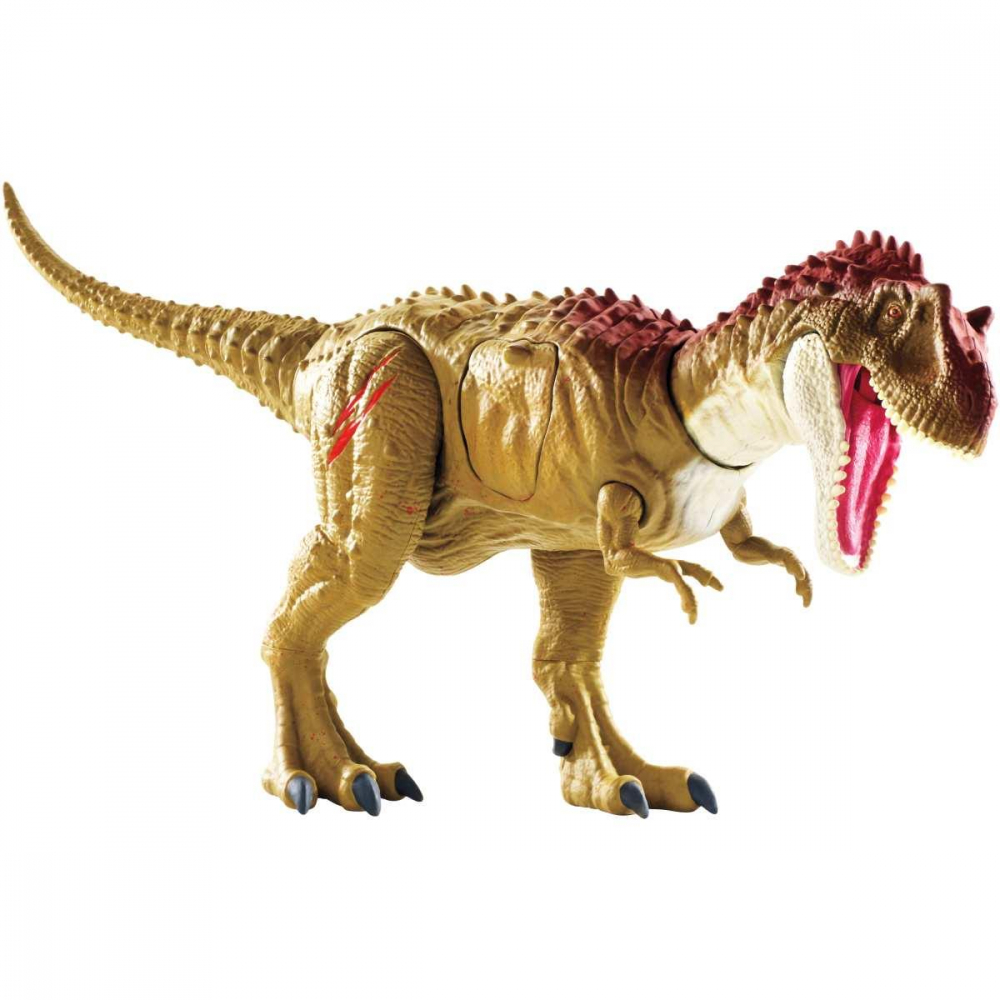 BONECO E PERSONAGEM JURASSIC WORLD ALBERTOSSAURO