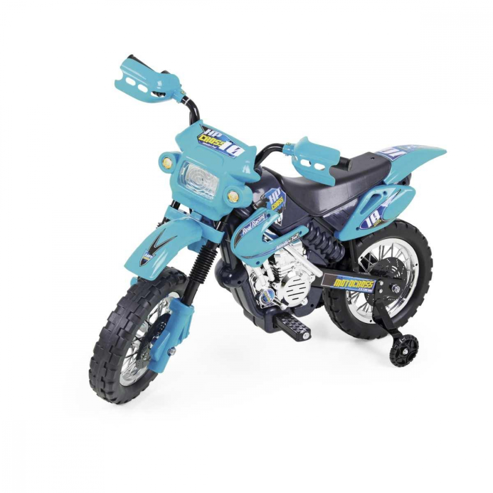 INFANT. MOTOCROSS 6V. AZUL