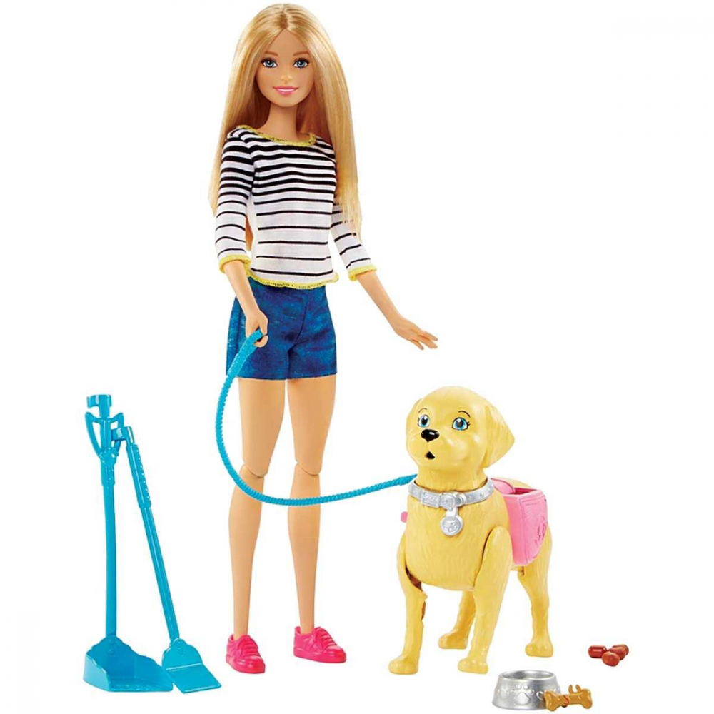 FAMILY BARBIE PASSEIO C/CACHOR