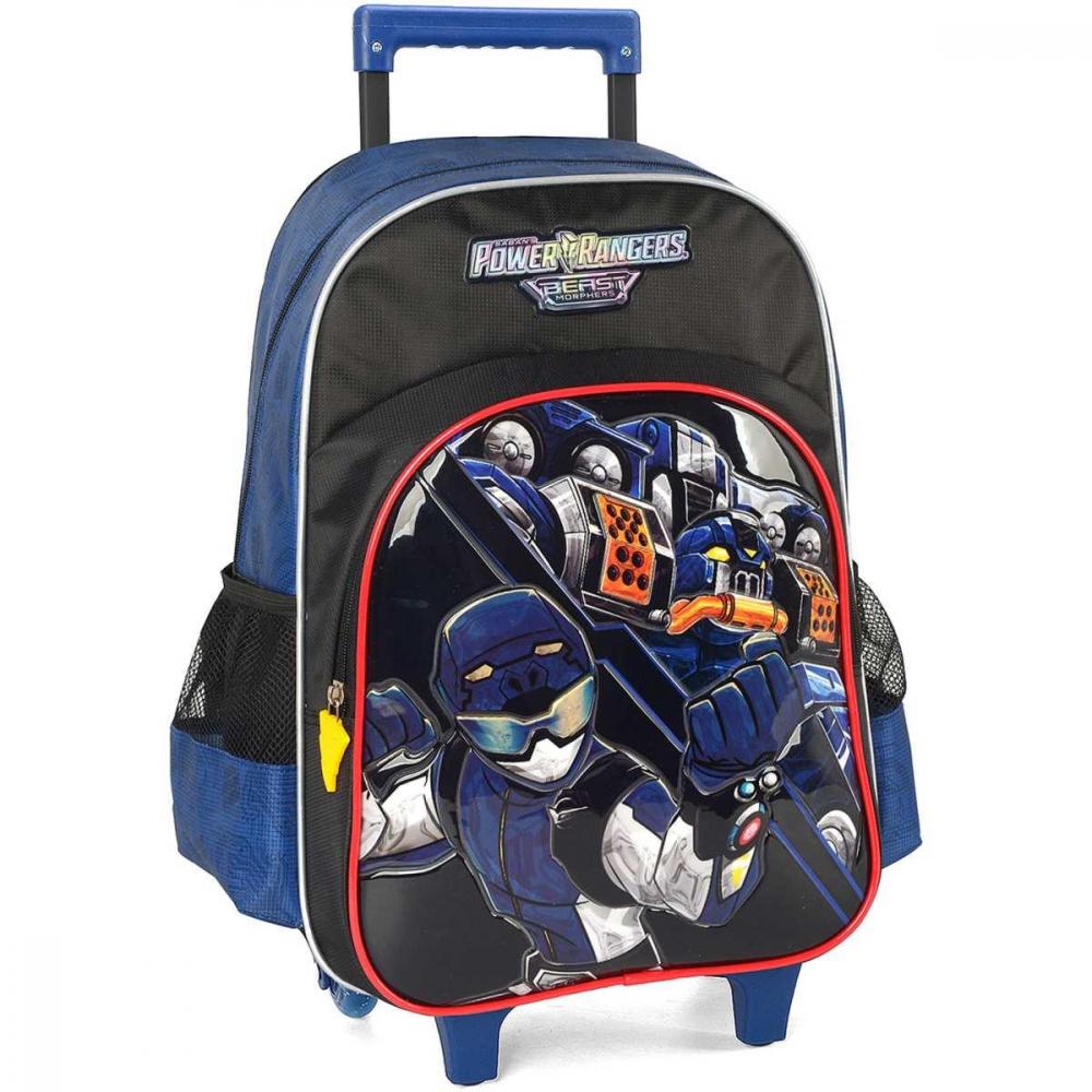 POWER RANGERS GD 3 BOLSOS AZUL