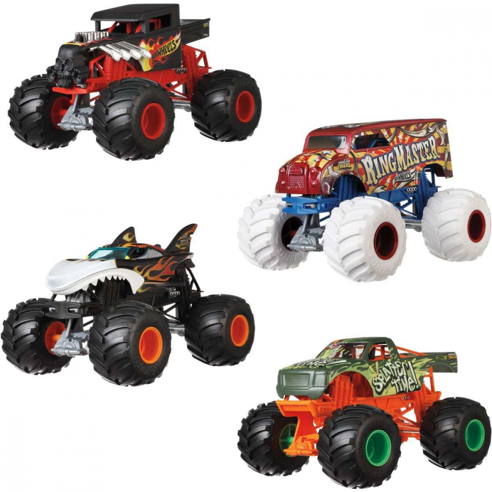 MONSTER TRUCKS 1:24