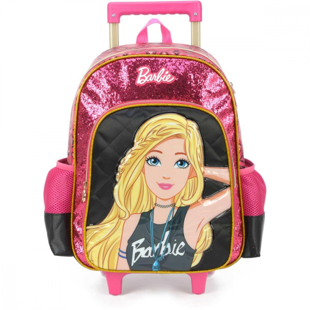 BARBIE GD 3 BOLSOS PRETO