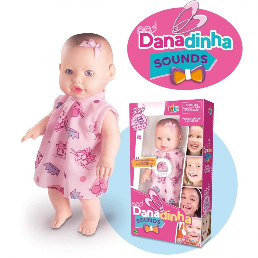 DANADINHA SOUNDS 34CM