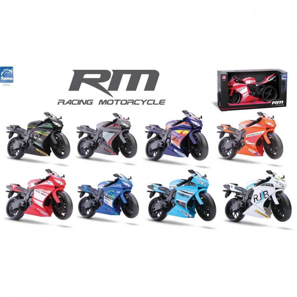 RACING MOTORCYCLE 34,5 CM