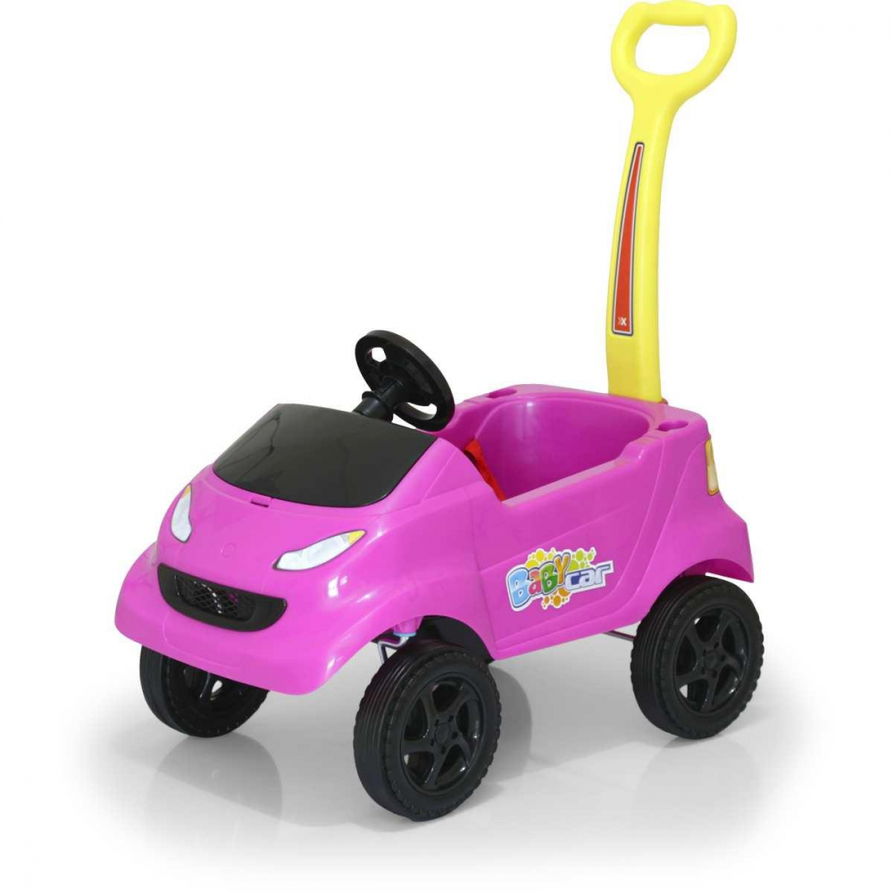 BABY CAR COMPACT PINK