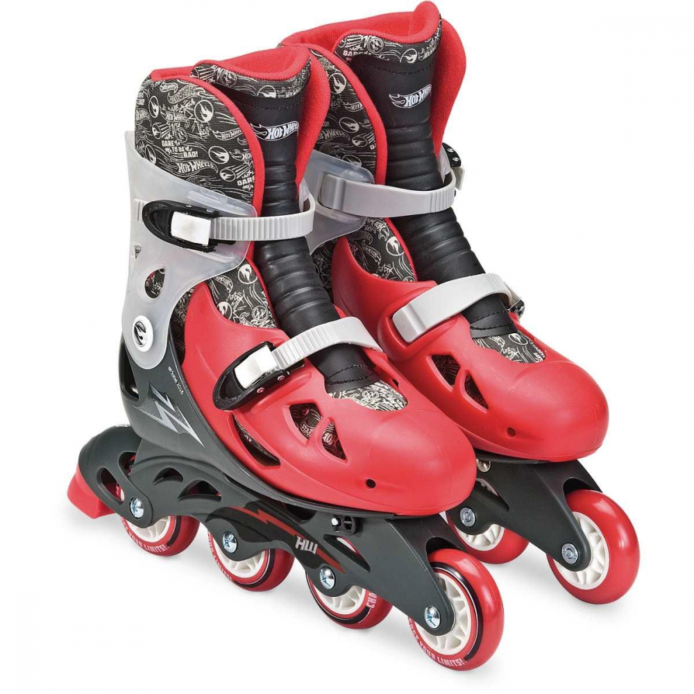 PATINS HOT WHEELS 4 RODAS AJUST 37/40