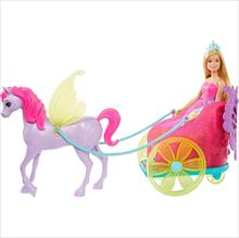 Fan Barbie Princesa Carruagem