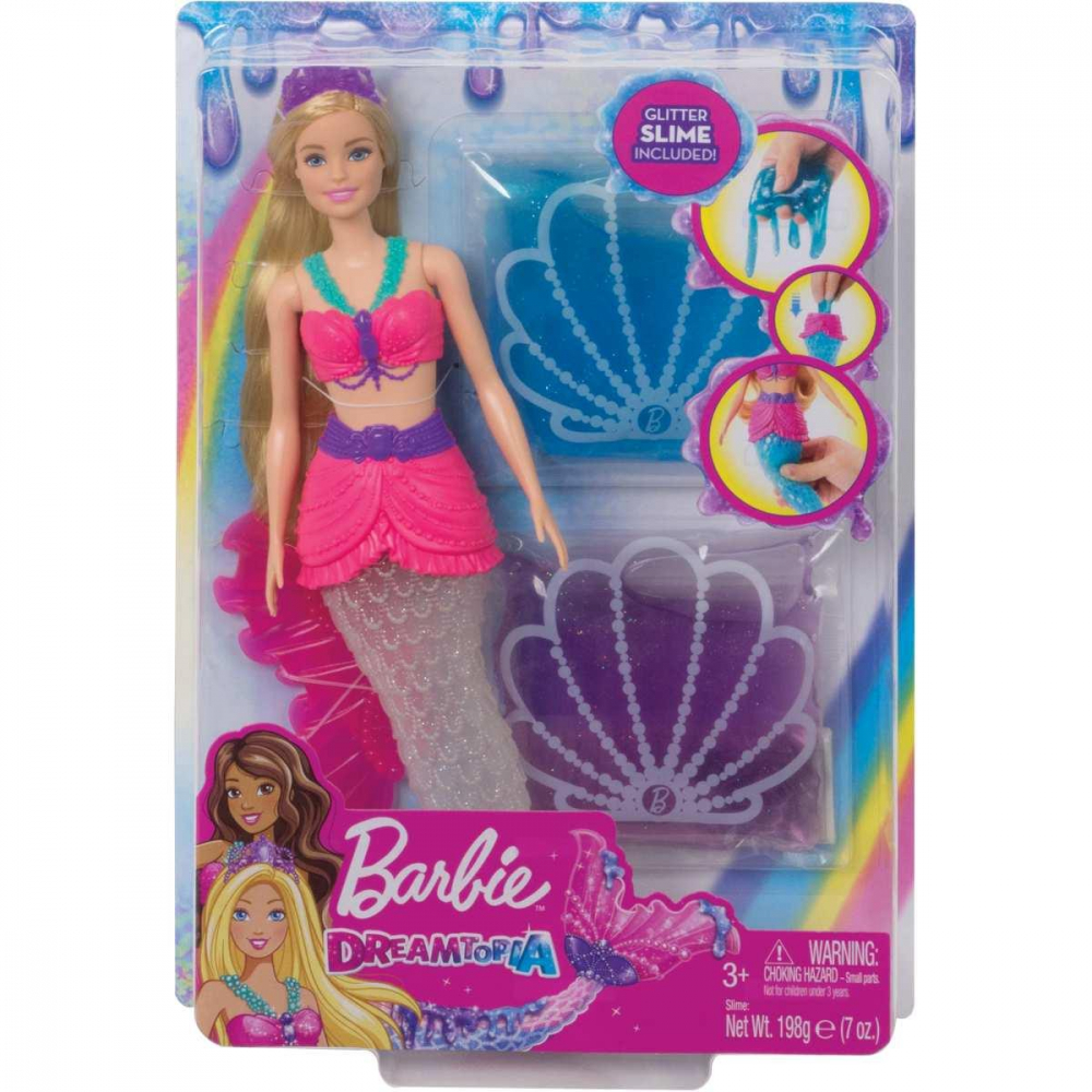 Barbie Fan Sereia Slime