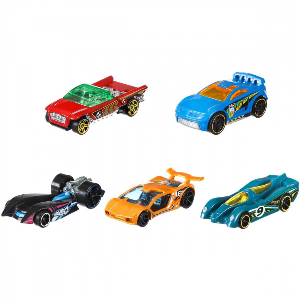 HOT WHEELS C/5 CARRINHOS SORT.