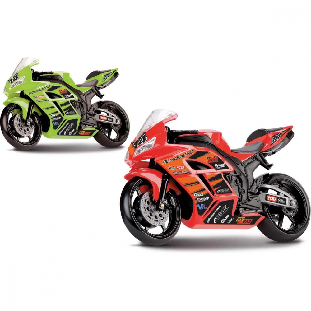 RACING MOTORCYCLE 22 CM