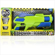 Pistola Power Slime Azul
