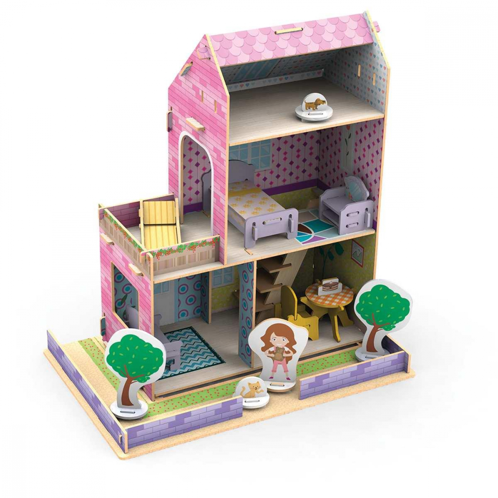 CASINHA LITTLE HOUSE VERÃO 50PCS MAD.