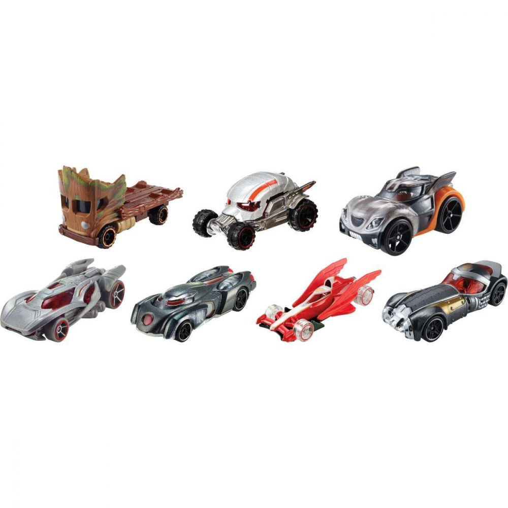 MARVEL CARROS 1:64 SORT