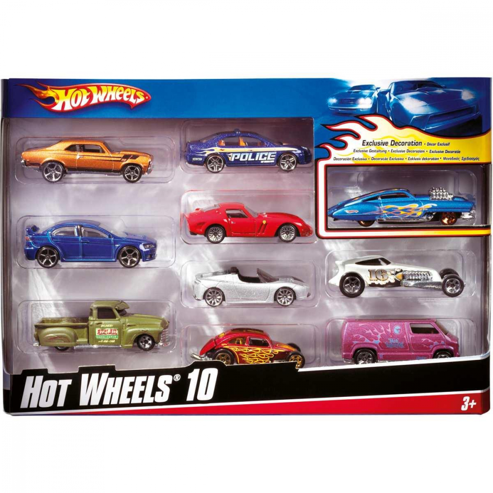 HOT WHEELS C/10 CARRINHOS SORT